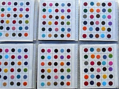 1440 Piece - Multi Color Size Indian Bindi Round Dots Tattoo / 2 Different SIZE