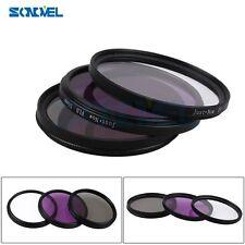 55mm UV CPL FLD Lens Filter Kit for Nikon D5500 D5300 D3300 D750 AF-P DX 18-55mm