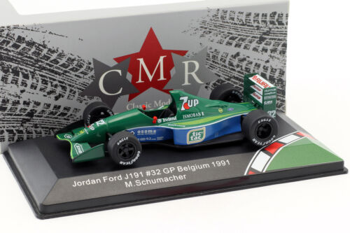 Michael Schumacher Jordan Ford 191 #32 F1 Debut Belgien GP Formel 1 1991 1:43 CM
