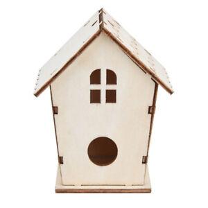 Details About Bird Feeding House Window Bird Feeder Decor Garden Outdoor Birdhouse Diy Wooden