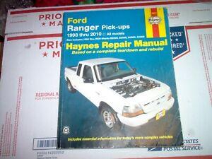 2010 ford ranger wiring diagram haynes repair manual 1993 2010 ford ranger and mazda pickup w  2010 ford ranger and mazda pickup w