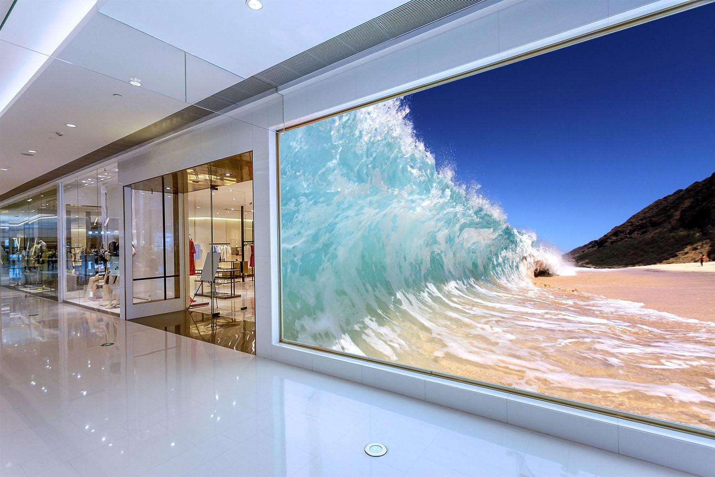 3D Blau Sky Waves 899 Wallpaper Mural Paper Wall Print Wallpaper Murals UK Lemon