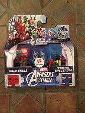 Marvel Minimates IRON RED SKULL & DOCTOR SPECTRUM Avengers Animated Walgreens