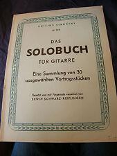 Partition Guitare Das Solobuch Livre de solo Sikorski N°268 Music Sheet