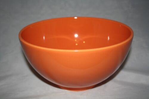 2,5 L Schüssel orange  Alte Serie Wächtersbach 1.Wahl 2500ml Bowl 23cm