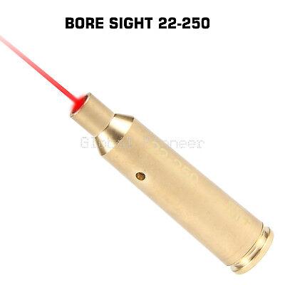 Optics Lasers Red Dot Laser Bore Sighter 22-250 Cal Cartridge Laser Sight