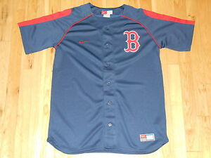 68c937b3 VINTAGE NIKE BOSTON RED SOX BATTING PRACTICE YOUTH MLB TEAM STITCHED ...