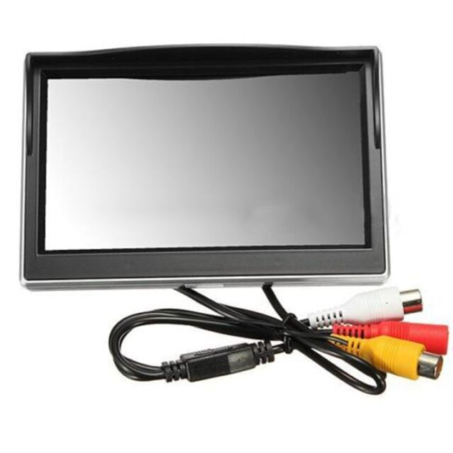 "NEU 5"" 800*480 TFT LCD hdreen Monitor fürr hinten Rückspiegel backupmer D8N1 I0G8"