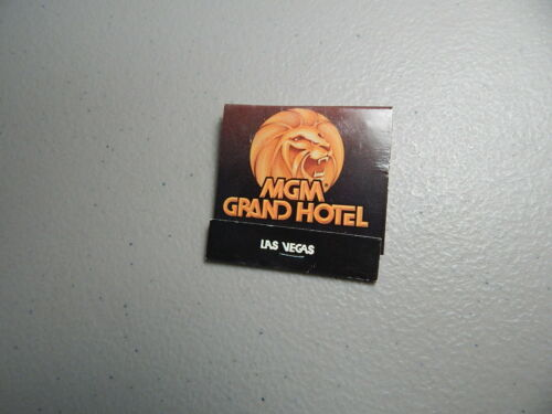 Matchbook Cover MGM Grand Hotel Las Vegas//Barry Mores/' Rest