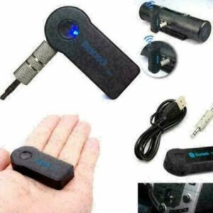 USB 3.5mm Bluetooth Wireless For Aux Stereo Audio Music Adapter Receiver FT L1O1