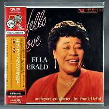 ELLA FITZGERALD Hello Love JAPAN '07 Ltd Mini LP CD 24-bit OBI POCJ-2760 NEW