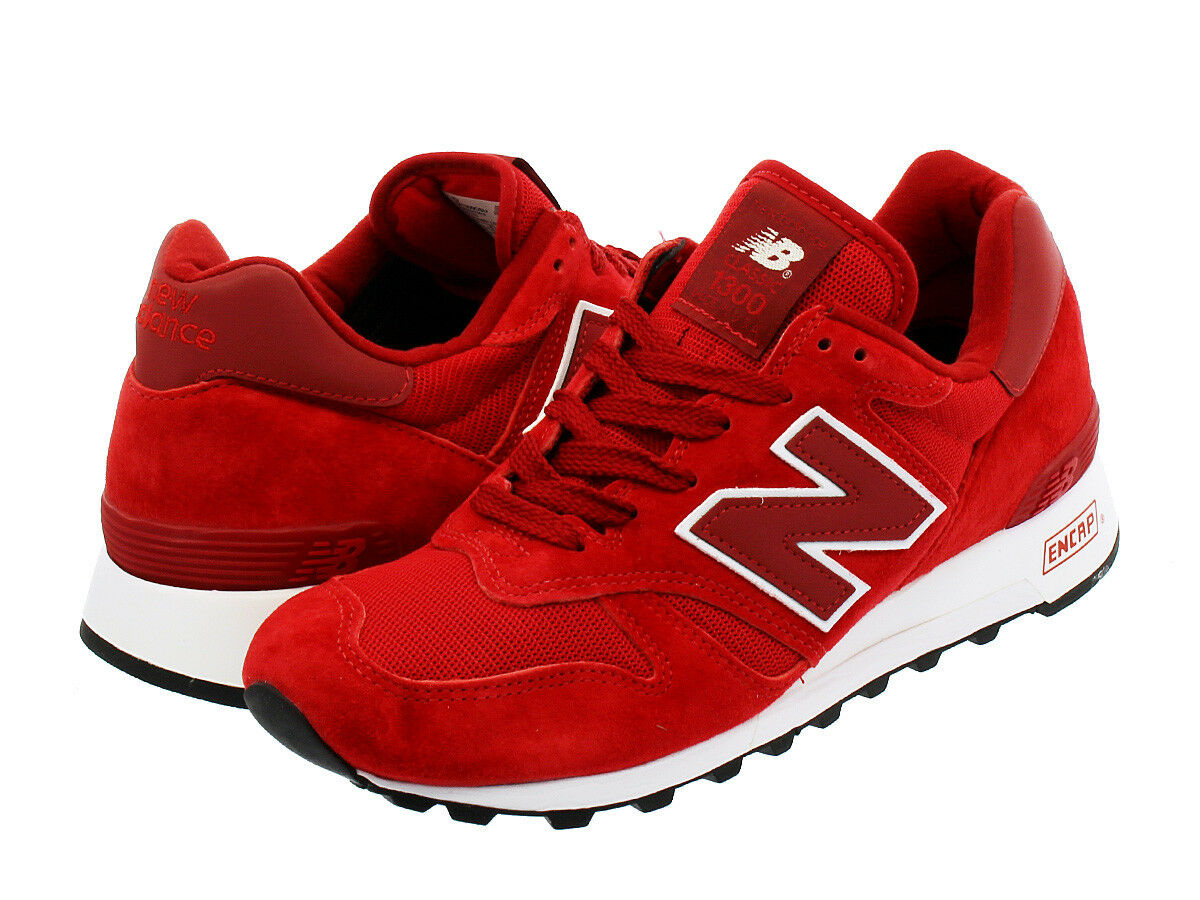 NEW BALANCE M1300CSU AGE OF EXPLORATION RED WHITE Sneakers SIZE 9.5 LAST ONE