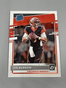 Joe Burrow 2020 Panini Donruss Optic 🏈 Base Rated Rookie RC #151 Bengals