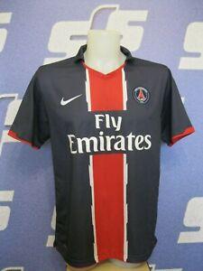 de8632457 PSG 2010 2011 Home Sz L Nike football shirt jersey maillot Paris ...