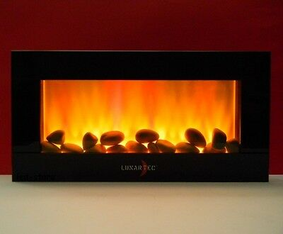 Led Wall fireplace with TrueFlame LEDs/Electric fireplace Chimney flameless