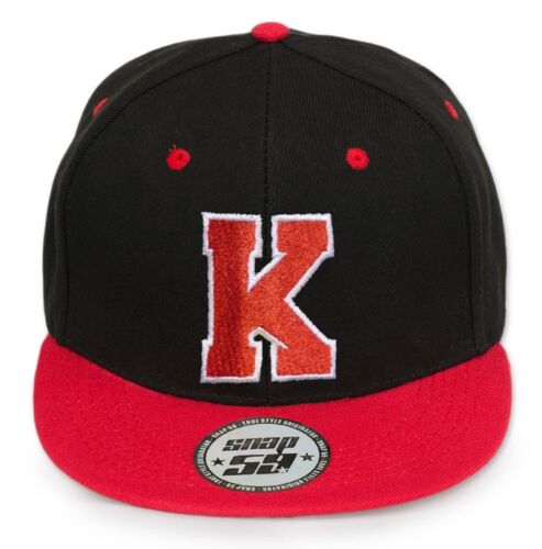 Mens Classic Red Black B Adjustable Baseball Caps WORK CASUAL SPORTS LEISURE
