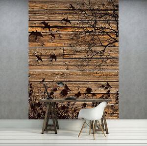 Nappes papier peint papiers peints photos bois nature arbre planches oiseau fleurs 3fx3487vea-afficher le titre d`origine