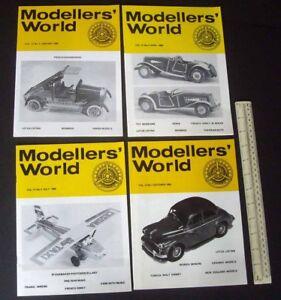 1983-84-Vintage-MikanSue-Modellers-039-World-Collectors-Magazine-Complete-Vol-13