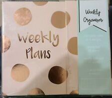 New Tri Coastal Design Pink Weekly Planner Organizer