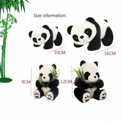 Toy Lovely Bear Plush Panda Cute Cartoon Pillow Stuffed Animals Gift Doll