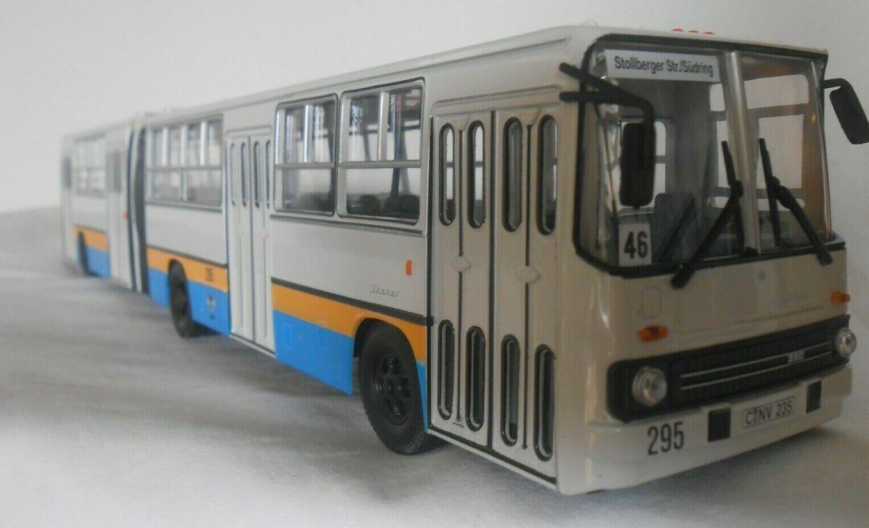 Brekina Ikarus 280 Gelenkbus CVAG Chemnitz Bild-Zeitung 59705
