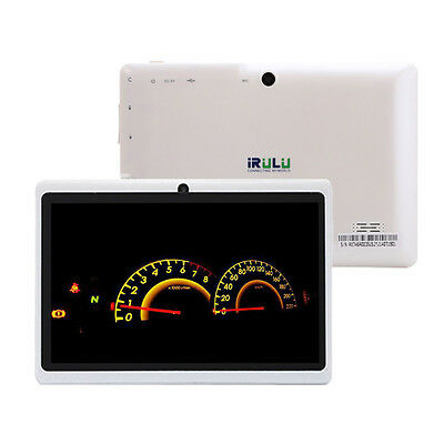 """iRULU Tablet PC eXpro X1 7"""" Android 4.4 16GB Quad Core Dual Cams HD Touch Screen"""