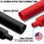 thumbnail 1 - Marine Grade Dual-Wall Adhesive Glue Lined Heat Shrink Tube 3:1 Ratio Black/Red