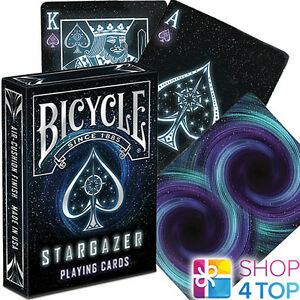 BICYCLE-STARGAZER-PLAYING-CARDS-DECK-MAGIC-TRICKS-SPACE-USPCC-SEALED-USA-NEW