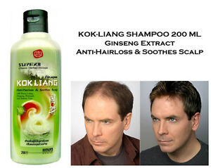 Asian ginseng hairloss