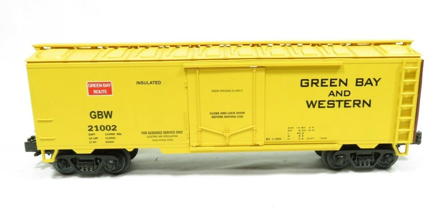MTH 20-94006 Green Bay Route Reefer Car LN