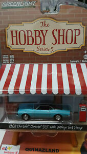 Greenlight-Hobby-Shop-1968-Chevrolet-Camaro-Ss-with-Vintage-Gas-Pump-N27