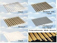 Polycarbonate Sheets Standard Rectangles 32mm Width 1600mm Length 6000mm Clear