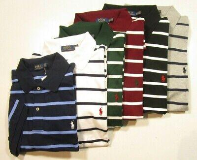 Polo Ralph Lauren Big & Tall Men's Classic Fit Striped Interlock Polo Shirt   eBay