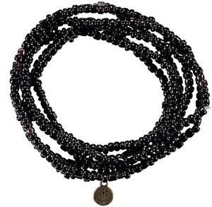 Barts-Kette-Matako-schwarz-Unifarben-Modeschmuck