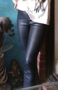 The-Row-Stretch-Leather-Pants-Leggings-Lambskin-Sz-S