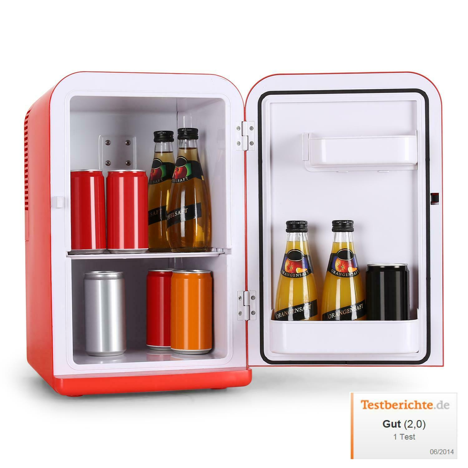 Klarstein cooler design fridge mini fridge retains the