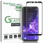 amFilm 14295956 Galaxy S9 Plus Screen Protector Glass  - Black