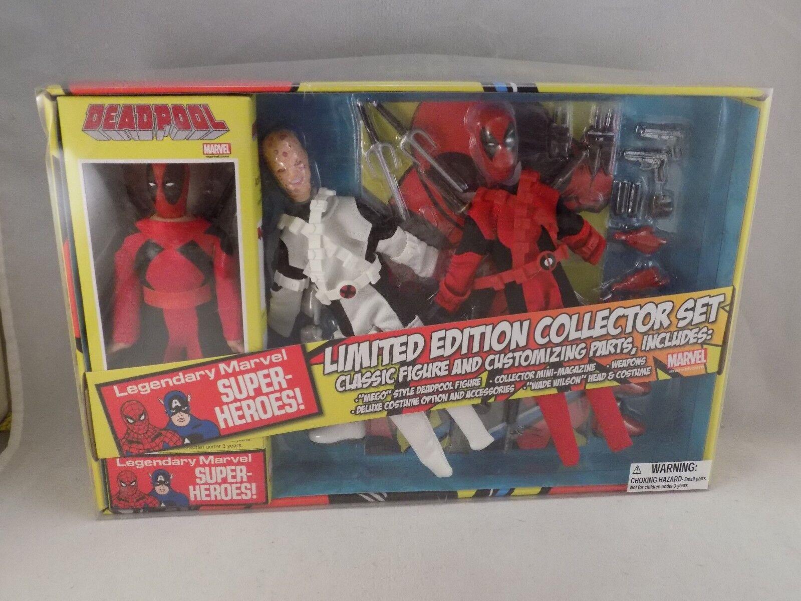 MARVEL DEADPOOL Limited Edition Collector Set Classic Figure MEGO Deadpool