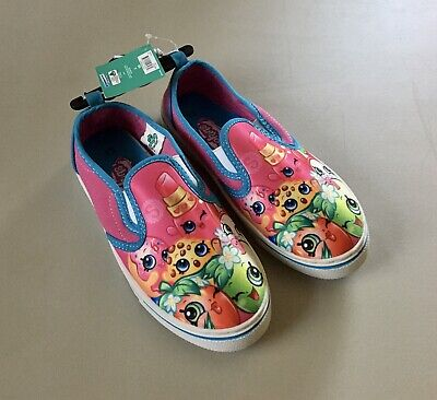 new shopkins shoes canvas casual tennis slip on sneaker