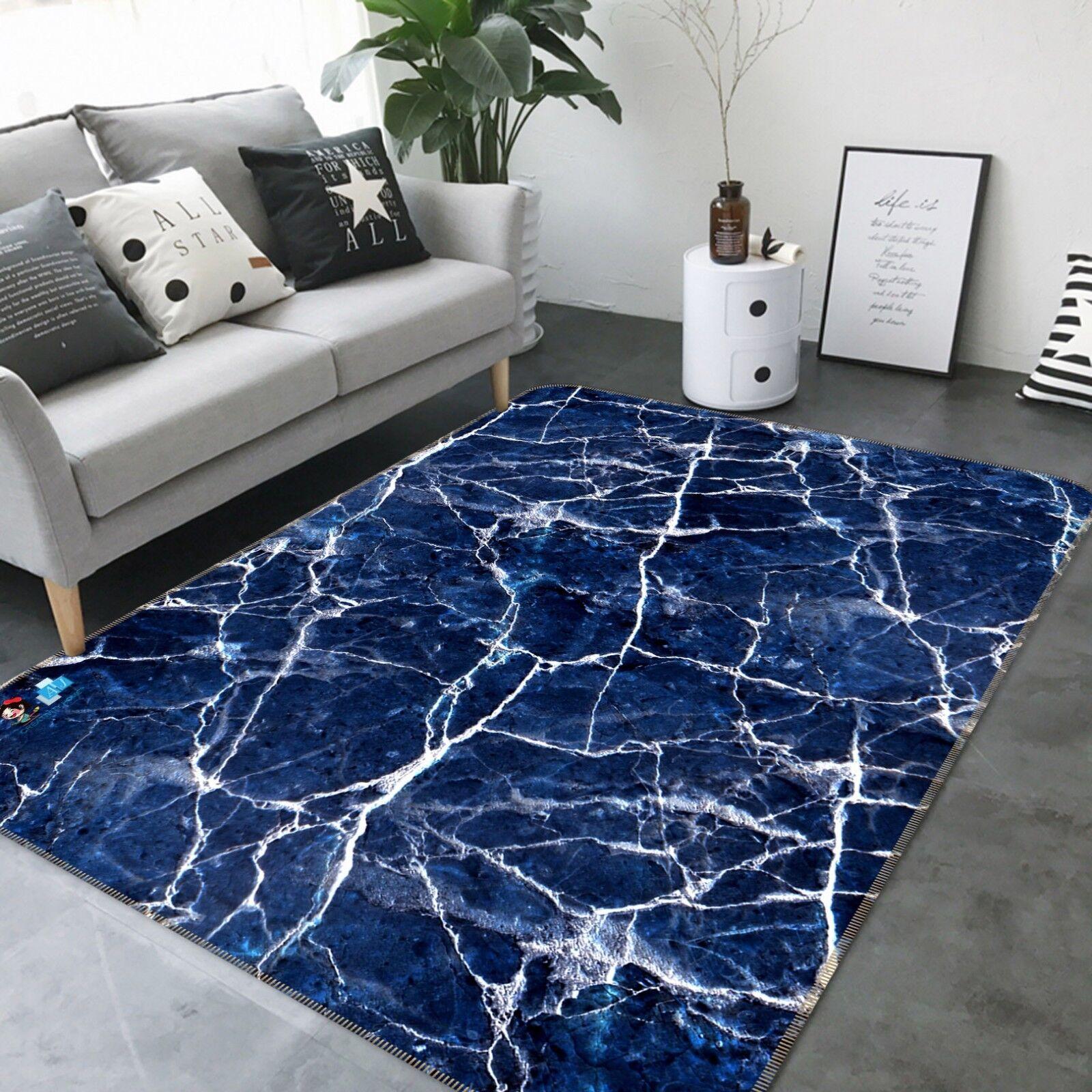 3D blancoo alfombra antideslizante de Flash Figura 8 mat alfombra elegante alfombra de sala DE