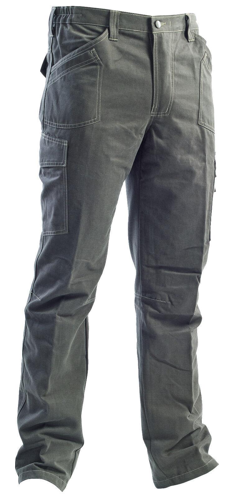 """Pantalone da lavgold linea """"002"""", color terra"""