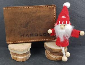 Neu-Vintage-Rindsleder-Herren-Ledergeldboerse-Klein-Brieftasche-Portemonnaie