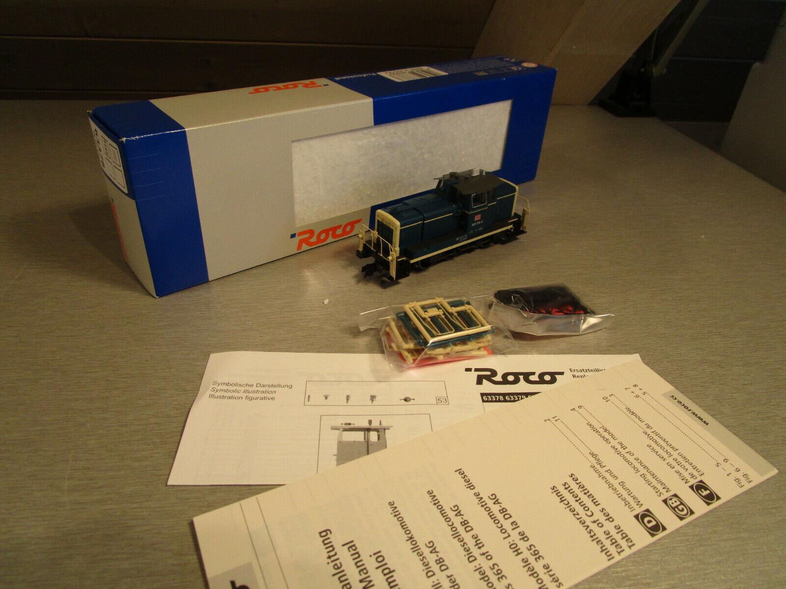 Roco 63378 diesellok DB 365 716-0 h0 como nuevo