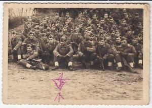 VERA FOTO MILITARI SECONDA GUERRA MONDIALE ALLE FORNACI COMO 1956 3-229