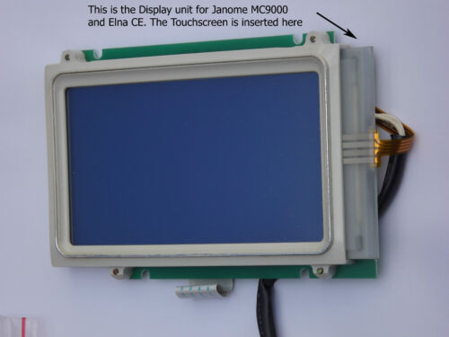 Janome MC9000 /& Elna CE LCD Touch Screen