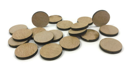 Wooden Plywood 35mm Circles Squares 25-100 Quantity Doves Butterflies