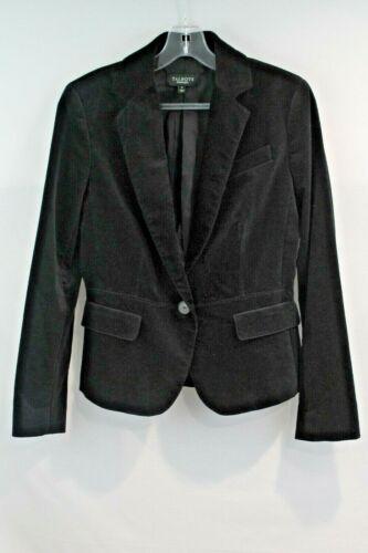 Talbots Blazer Women's size 4 Black Velvet Lined P