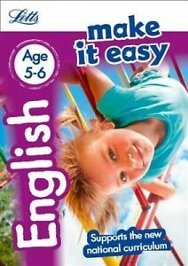 English-Age-5-6-by-Letts-KS1-Fidge-Louis-Huggins-Cooper-Lynn-Paperback-book