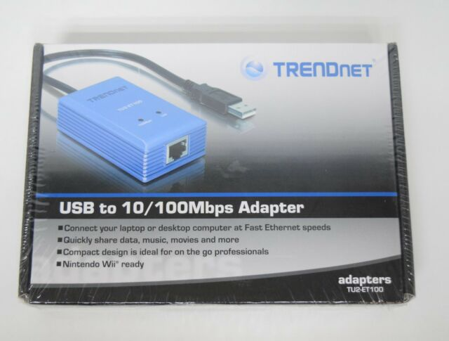 TRENDNET TU2-ETG NETWORK ADAPTER DOWNLOAD DRIVERS