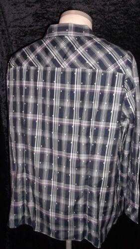 gr Long 52 blouse continua abbottonatura X L Con Controllato Collezione Y0wUn
